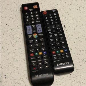 Samusung tv remotes